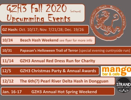 Guanzhou H3 Fall 2020 Events